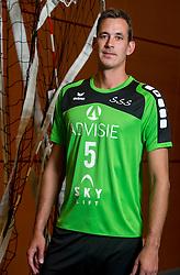 05-10-2016 NED: Selectie SSS 2016-2017, Barneveld<br /> De spelers van eredivisie club SSS voor het seizoen 2016-2017 / Freek Michel