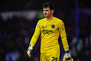 Max O'Leary of Shrewsbury Town during the EFL Sky Bet League 1 match between Portsmouth and Shrewsbury Town at Fratton Park, Portsmouth, England on 15 February 2020.