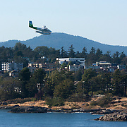 Sea planes landing at Victoria Harbor, Vancouver Island.<br /> Photography by Jose More