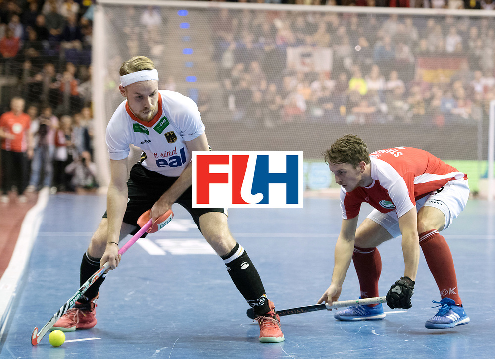 BERLIN - Indoor Hockey World Cup<br /> Final: Germany - Austria<br /> foto: Christopher R&uuml;hr <br /> WORLDSPORTPICS COPYRIGHT FRANK UIJLENBROEK