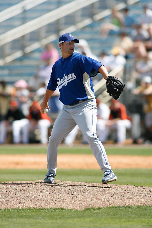 Los Angeles Dodgers 4-2 victory over the Baltimore Orioles on March 12, 2007 at Ft. Lauderdale Stadium in Ft. Lauderdale, Florida.