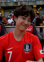 International Women's Friendly Matchs 2019 / <br /> Cup of Nations Tournament 2019 - <br /> Argentina vs South Korea 0-5 ( Leichhardt Oval Stadium - Sidney,Australia ) - <br /> Kang Yu-Mi of South Korea