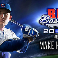 RBI Baseball video game cover of Alex Rizzo for MLB BAM