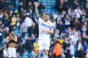 Thumbs up from Leeds United captain Liam Cooper of Leeds United (6) at the full time whistle during the EFL Sky Bet Championship match between Leeds United and Bolton Wanderers at Elland Road, Leeds, England on 23 February 2019.