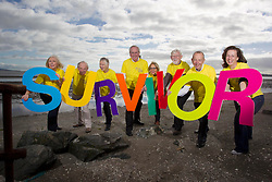 Repro Free: 19/09/2013<br /> Photo Caption<br /> Cancer Society National Conference for Cancer Survivorship<br />  <br /> 19th September 2013: Cancer survivors launch the Irish Cancer Society National Conference for Cancer Survivorship. <br /> <br /> The Irish Cancer Society National Conference for Cancer Survivorship will take place in the Aviva Stadium in Dublin on Friday 20th and Saturday 21st of September and is kindly supported by Roche. The Conference will address the needs of the growing numbers of cancer survivors who are looking to access information and support around the effects of a cancer diagnosis. <br />  <br /> Cancer Survivors are as follows: <br />  Hilary Coffey Farrell, Cervical Cancer Survivor, Kimmage.<br /> Jim Scott, Prostate Cancer Survivor, Churchtown.<br /> Hazel Stephens, Breast Cancer Survivor, Blackrock.<br /> Art Cosgrave, Bowel Cancer Survivor, Foxrock.<br /> Helen Ryan, Bowel Cancer Survivor, Navan Road.<br /> John Dowling, Prostate Cancer Surivor, Mount Merrion.<br /> John Langton Mouth, Head and Neck Cancer Survivor, Terenure.<br /> Nicola Elmer, Breast Cancer Survivor, Inichore.<br /> <br /> Picture Andres Poveda<br /> <br />  <br /> ENDS<br />  <br /> Contact: &Oacute;rla Sheils, Communications Officer, Irish Cancer Society. Telephone: 01 2310559 / 087 6453867. Email: osheils@irishcancer.ie .