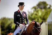 LILLY CORINNE ridden by Sarah Bullimore at Bramham International Horse Trials 2016 at Bramham Park, Bramham, United Kingdom on 9 June 2016. Photo by Mark P Doherty.