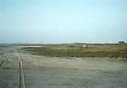 Mudflat on the Gulf of Mexico, Tamaulipas.