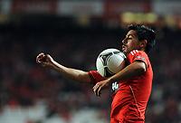 20120302: LISBON, PORTUGAL – Liga Zon Sagres 2011/2012: SL Benfica vs FC Porto. In Picture: Nolito (Benfica). PHOTO: Alvaro Isidoro/CITYFILES