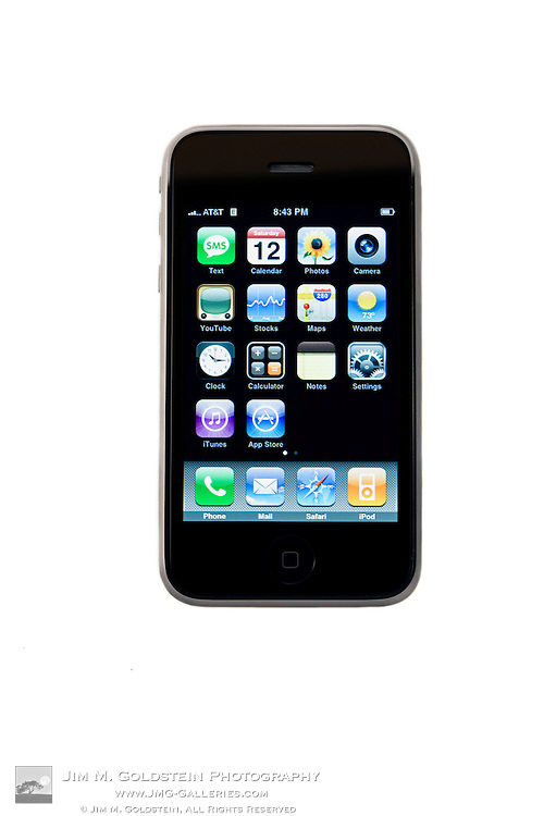 A knockout product photo of the new Apple 3G iPhone