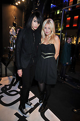 NAT WELLER and MARISSA MONTGOMERY at the launch of the French Connection Denim store at 11 James Street, Covent Garden, London on 21st October 2009.