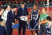Italia-USA Roma 1998<br /> carlton myers, bogdan tanjevic