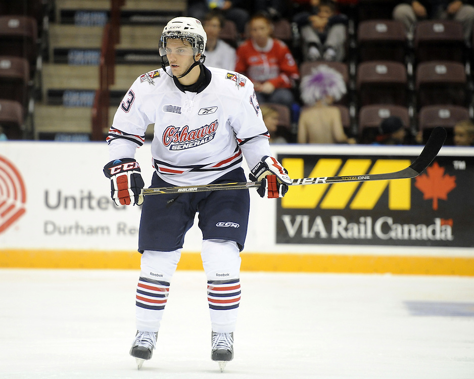 of the Oshawa Generals. Photo by Aaron Bell/OHL Images