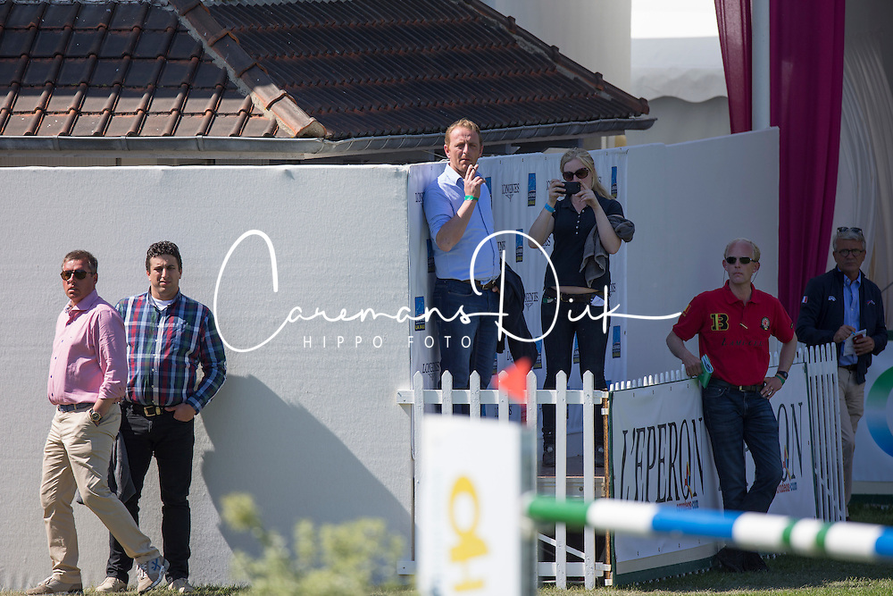 Vermeiren Jan co-owner Armstrong vd Kapel <br /> Longines Jumping International La Baule 2014<br /> © Hippo Foto - Dirk Caremans