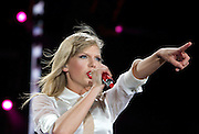 Taylor Swift in concert at Philadelphia's Lincoln Financial Field Friday night July 19, 2013 .