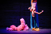"Jenny C'est Quoi performs ""The Lorax"" at Storybook Burlesque's ""Dr. Seuss Burlesque."""