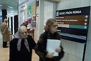 Roma, 04/03/2004: Ufficio dell' INPS, via Amba Aradam.