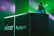 Photos of the musician Daphni performing live during Sónar Reykjavík music festival at Harpa concert hall in Reykjavík, Iceland. February 15, 2014. Copyright © 2014 Matthew Eisman. All Rights Reserved