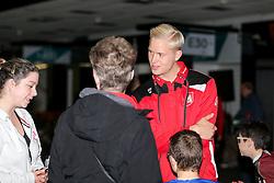 Hordur Magnusson of Bristol City visits the Bristol Sport Spooktacular Halloween Event at Ashton Gate - Rogan Thomson/JMP - 26/10/2016 - SPORT - Ashton Gate Stadium - Bristol, England.