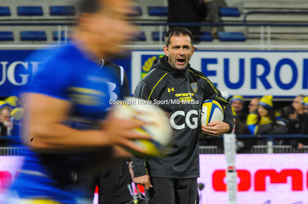 Franck AZEMA  - 20.12.2014 - Clermont / Castres - 13eme journee de Top 14 -<br /> Photo : Jean Paul Thomas / Icon Sport