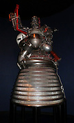 The RL-10 liquid-fuel cryogenic rocket engine used on the Centaur, S-IV and DCSS upper stages. Built in the United States of America by Pratt & Whitney Rocketdyne. The RL-10 was the first liquid hydrogen rocket engine to be built in the United States, and development of the engine by Marshall Space Flight Center and Pratt & Whitney began in the 1950s, with the first flight occurring in 1961