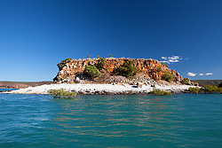 A remote island near the Traverse Island group on the Kimberley coast.
