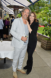 GIORGIO LOCATELLI and NIGELLA LAWSON  at an Evening at The River Cafe in aid of the NSPCC held at The River Cafe, Thames Wharf, Rainville Road, London on 19th June 2016