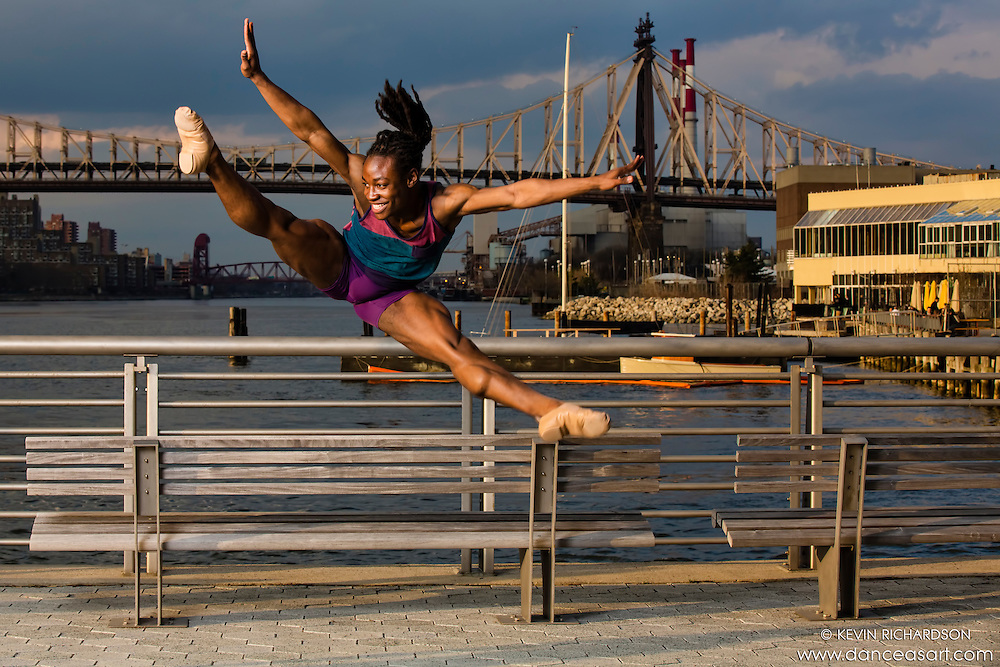 New York City Dance Photography- Dance As Art Gantry State Park with dancer Kevin Mimms