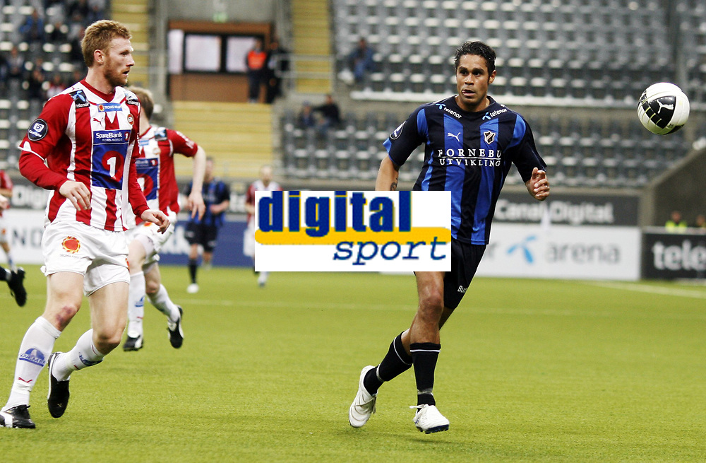 Fotball , 5. april 2010 , Tippeligaen , Eliteserien , <br /> Stab&aelig;k - Troms&oslash; 0-1<br /> <br /> Fredrik Bj&ouml;rck , TIL<br /> Daniel Nannskog , Stab&aelig;k