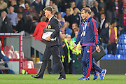 Manchester United Manager Louis van Gaal after the Barclays Premier League match between Crystal Palace and Manchester United at Selhurst Park, London, England on 31 October 2015. Photo by Ellie Hoad.
