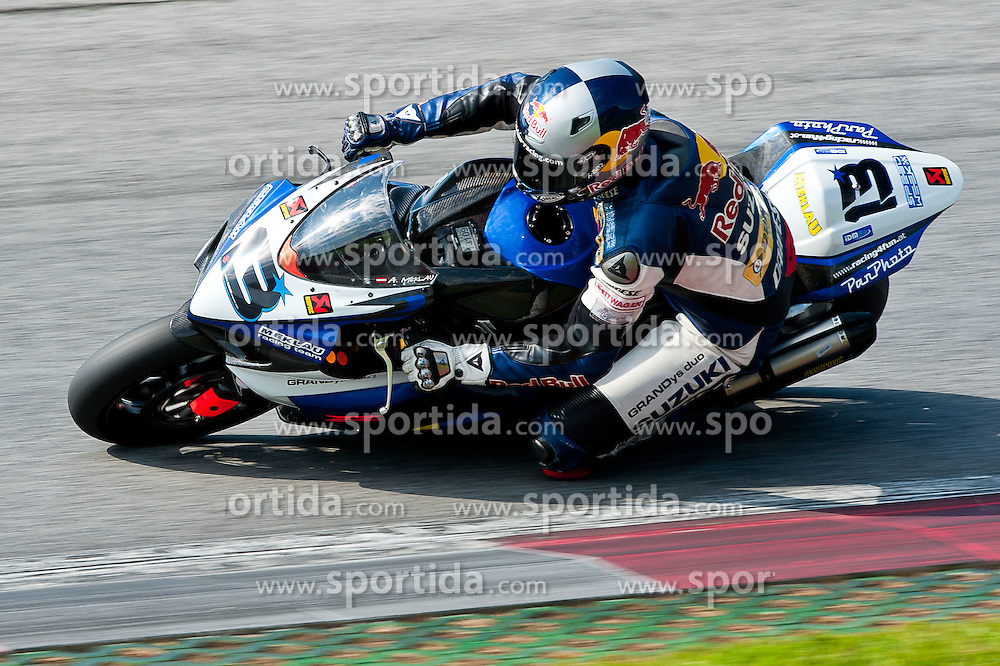 20.08.2011, Red Bull Ring, Spielberg, AUT, IDM Spielberg, im Bild Andreas Meklau, (AUT, IDM Superbike) // during the IDM weekend on the Red Bull Circuit in Spielberg, 2011/08/20, EXPA Pictures © 2011, PhotoCredit: EXPA/ S. Zangrando