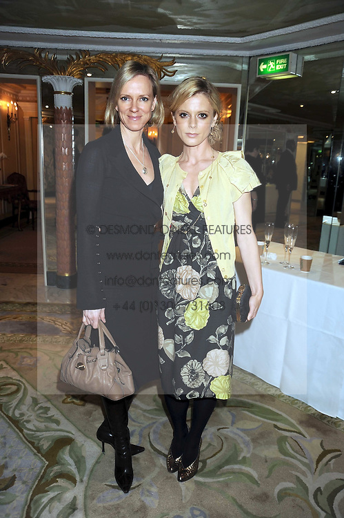 Left to right, HERMIONE NORRIS and EMILIA FOX at the 2009 South Bank Show Awards held at The Dorchester, Park Lane, London on 20th January 2009.