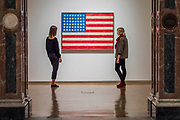 Flag, 1958 - Jasper Johns: 'Something Resembling Truth' at the Royal Academy of Arts. The exhibition spans over 60 years from his early career, up to the present and includes over 150 works. The show runs at the RA from 23 September – 10 December 2017.