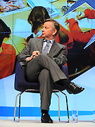 © Licensed to London News Pictures. 04/10/2011. MANCHESTER. UK. Michael Gove MP, Minister of State for Education at The Conservative Party Conference at Manchester Central today, October 4, 2011. Photo credit:  Stephen Simpson/LNP