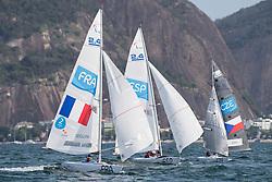 SEGUIN Damien, FRA, 1 Person Keelboat, 2.4mR, Sailing, Voile, MONTES VORCY Arturo, ESP, BINA Daniel, CZE à Rio 2016 Paralympic Games, Brazil