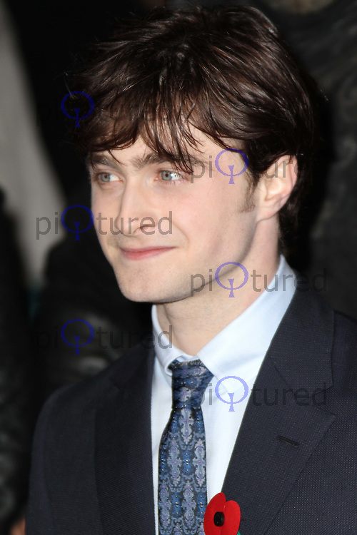 Daniel Radcliffe Harry Potter And The Deathly Hallows Part 1 World Premiere, Leicester Square Gardens, London, UK, 11 November 2010: piQtured Sales: Ian@Piqtured.com +44(0)791 626 2580 (picture by Richard Goldschmidt)