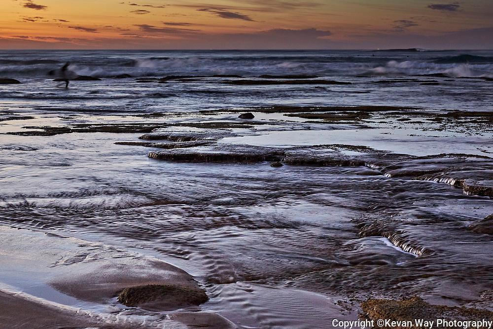 dawn session at 13th Beach