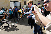 Netherlands, April 14 2013: Amstel Gold Race 2013 passes through Sibbe..Copyright 2013 Peter Horrell.