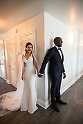 Bride and groom celebrate their estate wedding at Willow Heights Mansion in Morgan Hill, California, on March 12, 2017. (Scott MacDonald for SOSKIphoto)
