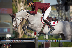 Al Thani Ali Bin Khalid (QAT) - Eurocommerce California<br /> Final First Competition<br /> Furusiyya FEI Nations Cup™ Final - Barcelona 2014<br /> © Dirk Caremans<br /> 09/10/14