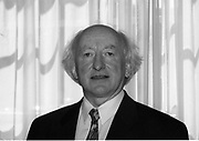 Michael D Higgens Labour TD Galway West 3-11-1998