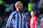 Sheffield Wednesday midfielder Barry Bannan during the EFL Sky Bet Championship match between Sheffield Wednesday and Derby County at Hillsborough, Sheffield, England on 29 February 2020.
