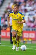 Rod McDonald (#4) of AFC Wimbledon during the EFL Sky Bet League 1 match between Sunderland and AFC Wimbledon at the Stadium Of Light, Sunderland, England on 24 August 2019.
