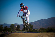 #176 (MALYSHENKOV Pavel) RUS at the 2013 UCI BMX Supercross World Cup in Chula Vista