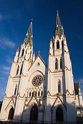 Cathedral of St. John the Baptist, Savannah, Georgia, United States of America.