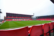 A general view of Oakwell during the EFL Sky Bet Championship match between Barnsley and Hull City at Oakwell, Barnsley, England on 30 November 2019.
