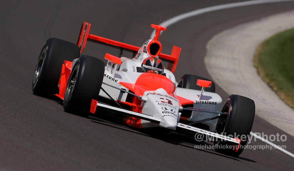 IndyCar driver Helio Castroneves.