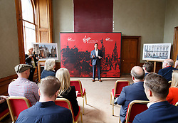 Raul Leal, CEO Virgin Hotels during the Virgin Hotels Groundbreaking event at India Buildings, Edinburgh. PRESS ASSOCIATION Photo. Issue date: Wednesday May 23, 2018. Photo credit should read: Robert Perry/PA Wire