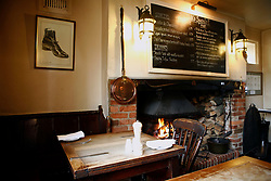 UK ENGLAND BERKSHIRE STANFORD DINGLEY 22MAR11 - Kate Middleton's favourite seating area at the Old Boot Inn pub, owned and run by John Hayley...jre/Photo by Jiri Rezac..© Jiri Rezac 2011