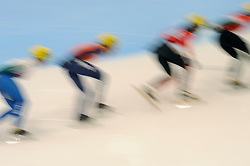 14-01-2011 SHORTTRACK: ISU EUROPEAN SHORTTRACK SPEEDSKATING CHAMPIONSHIPS: HEERENVEEN<br /> Annita van Doorn shorttrack creative<br /> ©2011-WWW.FOTOHOOGENDOORN.NL