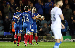 Marcus Maddison of Peterborough United and team-mates celebrate his sides second goal - Mandatory by-line: Joe Dent/JMP - 21/11/2017 - FOOTBALL - ABAX Stadium - Peterborough, England - Peterborough United v Portsmouth - Sky Bet League One